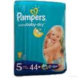 Pampers Active Baby Pleny  Junior - 44 ks