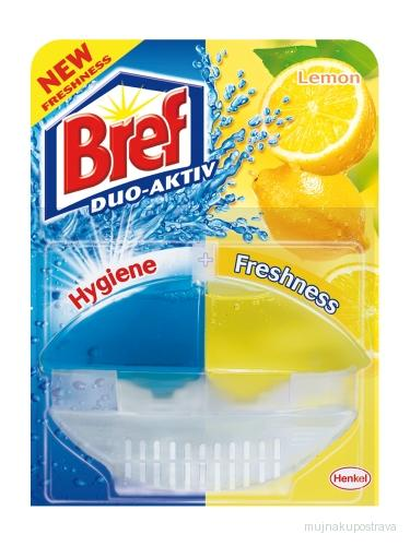 Bref Duo active žlutý Lemon - 50ml