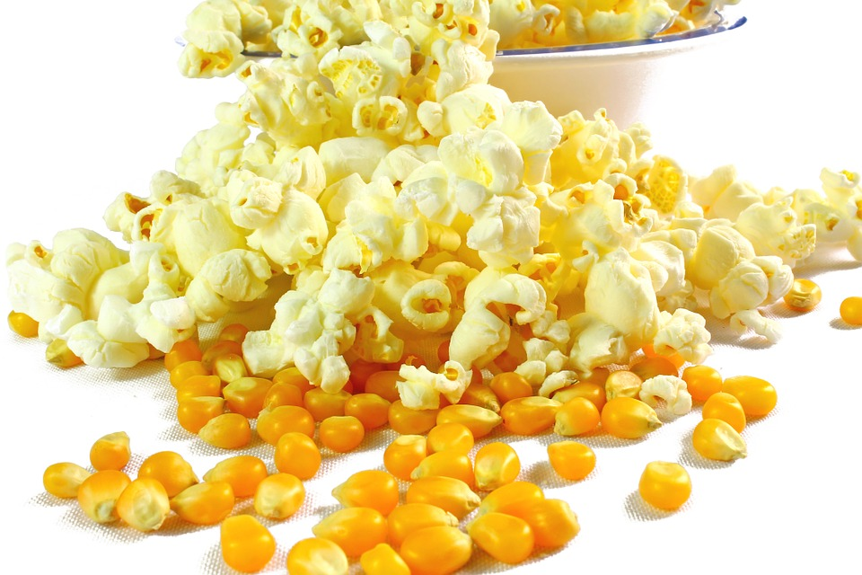 Popcorn do mikrovlnky slaný - 100 g