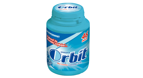 Orbit peppermint krabička - 46 ks