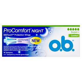 O.B. ProComfort Night Super+ Comfort tampony 16 ks