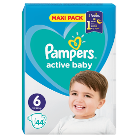 Pampers Active Baby Pleny 6 - 44 ks