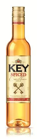 Stock Key Rum spiced 37,5%  - 0,5 l