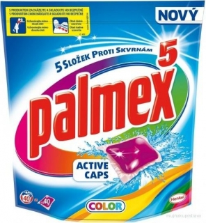 Palmex Horská vůně Active caps color - 40 ks
