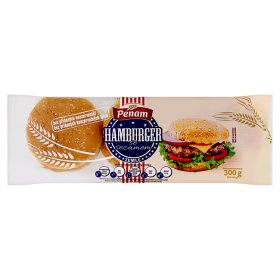 Hamburgrová houska 300g - 6ks