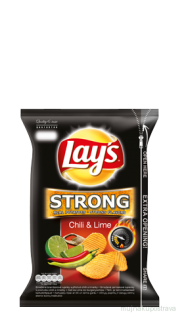Lay's STRONG Chili & Lime - 150g