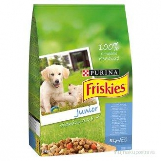 Granule psí FRISKIES Junior - 3kg