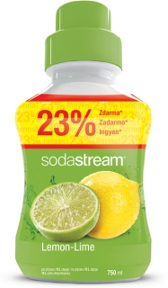 Sirup Lemon Lime 750 ml