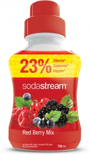 Sirup Red Berry 750 ml