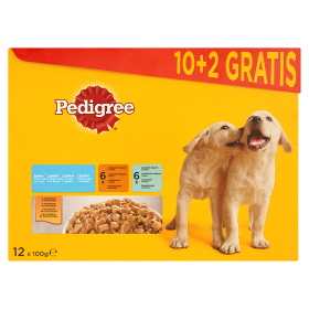 Pedigree Junior Kuřecí a krůtí maso 12x100g