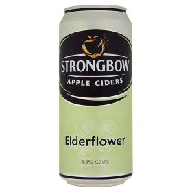 Strongbow cider bezový květ 400ml
