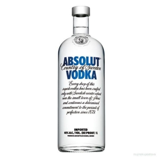 Absolut vodka 40%  - 0,7l