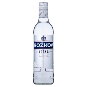 Božkov vodka 37,5%   - 0,5l