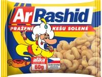 Ar.rashid Kešu pražené solené - 60 g