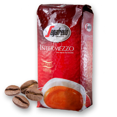 Segafredo Intermezzo káva zrnková 1000g