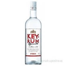 Stock Key Rum bílý 37,5%  - 1 l