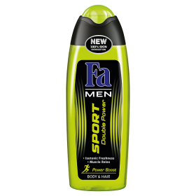 Fa Sport Double Power Power Boost Sprchový gel 250ml