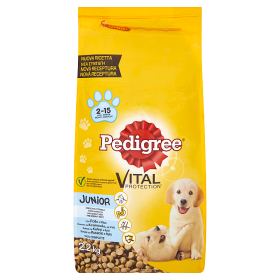 Pedigree Vital Junior kuřecí s rýži 2,2kg
