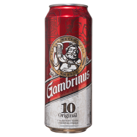 Gambrinus Original 10° - 1 x 500 ml plech